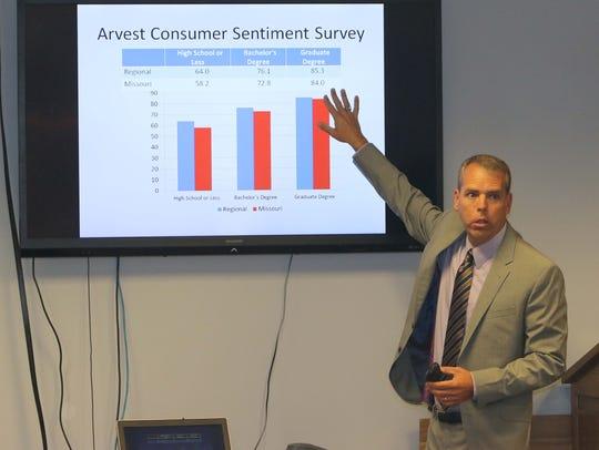 Missouri State University economics professor David