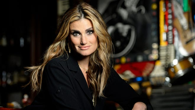 Idina Menzel's world tour makes a stop at Comerica Theatre Sunday.