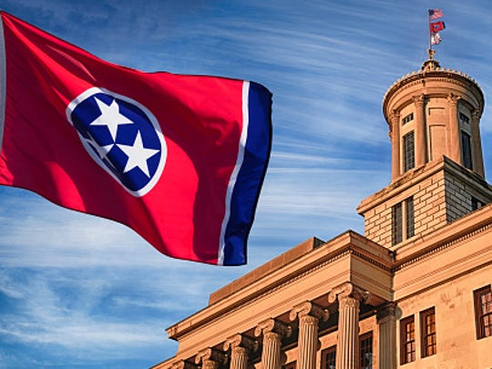 You can request state flags from the Tennessee delegation, but these are intended for organizations, not individuals.