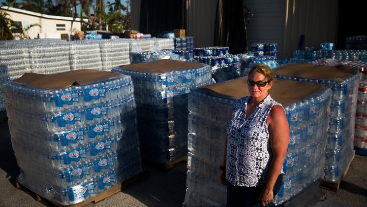 Stepping up during Irma: Everglades City Clerk Dottie Joiner slept in sewage plant to keep it running