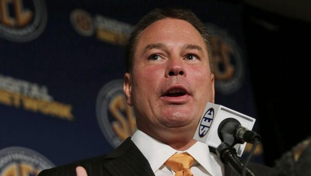 Butch Jones enters his second year as head coach at Tennessee.