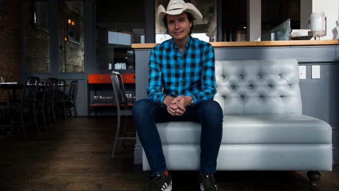 Entrepreneur, philanthropist, and restauranteur Kimbal Musk poses for a portrait at his restaurant on Monday, March 19, 2018, at The Kitchen in Fort Collins, Colo.
