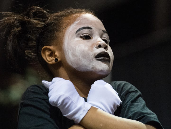 A member of the Resilient dance team performs at the