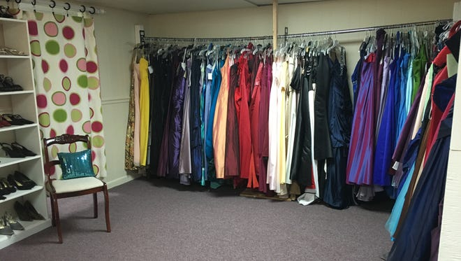 Becca's Closet in Fairview provides gently used formal dresses to local teens at no cost for a variety of formal events.