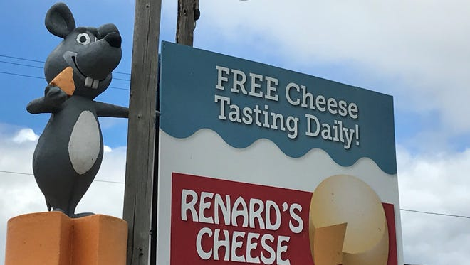 Visitors are welcome to sample cheese and tour the cheese plant at the Rosewood Dairy location of Renard's Cheese north of Algoma.