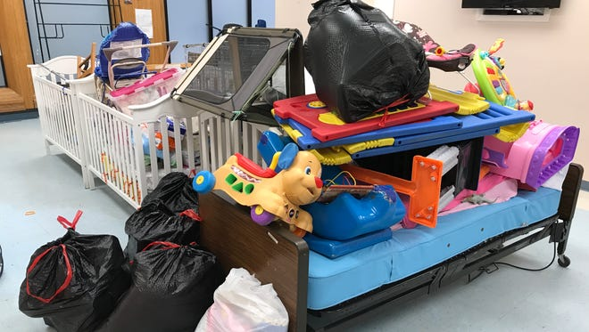 PATCHES, a nonprofit medical daycare for children, lost cribs, dressers and toys to water damage after the Orange Blossom Business Center in Fort Pierce was flooded in Hurricane Irma.