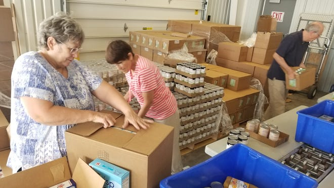 The Commodity Food Program, gives boxes of nutritional shelf-stable food to 800 low-income seniors in Cascade County every month.