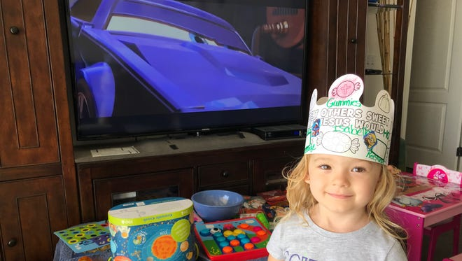"""On a recent Saturday, Isabella watched """"Cars 2"""" for the umpteenth hundred time."""
