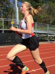 Pinckney's Erika Rapp set school records in the 800