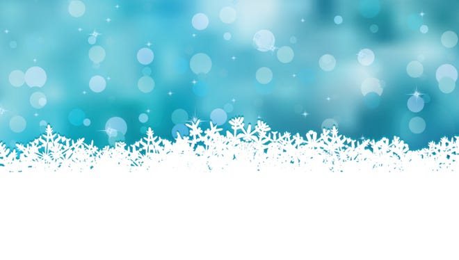 Blue christmas with beautiful snowflakes. EPS 8