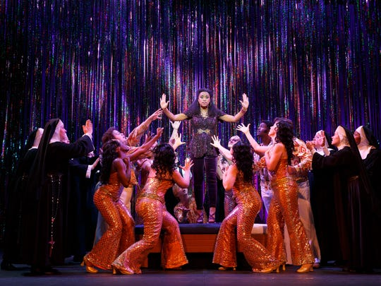 """A disco diva who witnessed a murder gets housed in a convent for her own protection in """"Sister Act."""""""