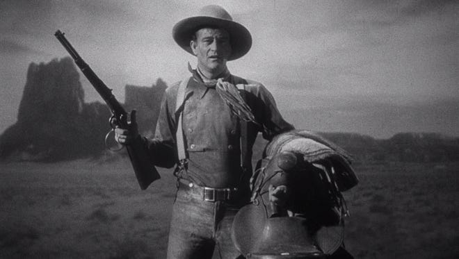 """John Wayne, star of """"Rio Bravo,"""" is pictured here as Ringo Kid in a still from the 1939 John Ford western """"Stagecoach."""""""