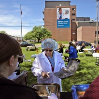 Picnic was a thank you to hospital employees