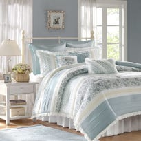 No matter how small your home, you can always provide luscious bedding, luxurious bath towels and thoughtful details.