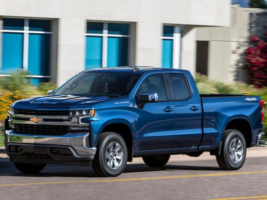 A GM plant that makes the Chevrolet Silverado, above, has been temporarily shut down due to the UAW strike.