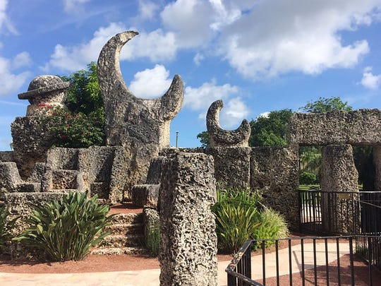 The Coral Castle Museum is in Homestead. Visitors can tour the castle and take a stroll through the mind of its creator, Ed Leedskalnin, who supposedly built the castle single-handedly from 1,100 tons of coral, without using construction equipment.