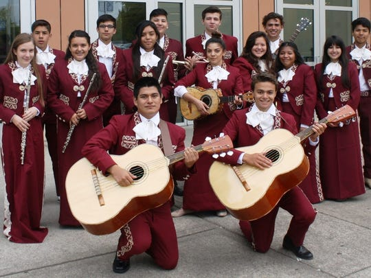"""The Woodburn High School Mariachi Band will play during intermission at the Salem Concert Band's opening season show """"Fiesta!"""" Oct. 30 and Nov. 5."""