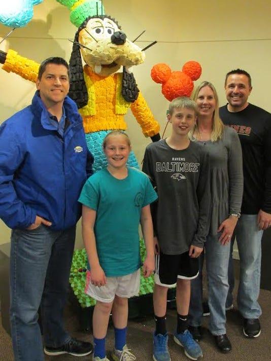 Grand Prize Winner: The Mondor Family with Matt Pye of Just Born Inc.