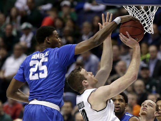 NCAA Middle Tennessee Michigan St Basketball (4)