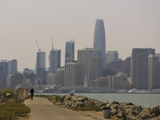 California Wildfires-Dirty Air