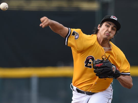 Pitcher Alex Faedo makes his debut with the Erie SeaWolves