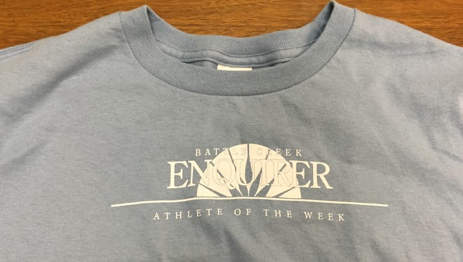 Nominate and then vote for your favorite high school athlete for a chance to win them this T-shirt.