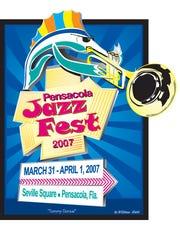 William Rabb's 2007 JazzFest poster