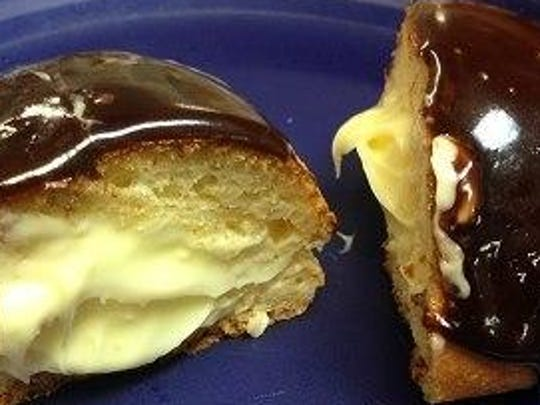 Custard is a favorite paczki filling at Celiac Specialties.