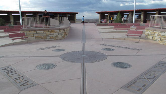 The Four Corners Monument has been expanded and now offers an interpretive center with restrooms. It's still not worth going out of your way to see.
