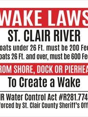 Boats less than 26 feet long may not make a wake within
