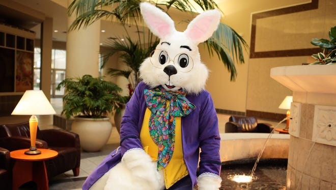 The  Easter Bunny is headed back to Eastdale Mall on March 5 at 11 a.m.