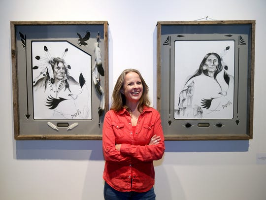 Olympic College professor Marie Weichman sees the college as an integral part of the Bremerton arts scene.