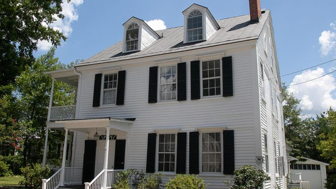 The newly-restored Smallwood-Howard house is located at 209 Change Street.