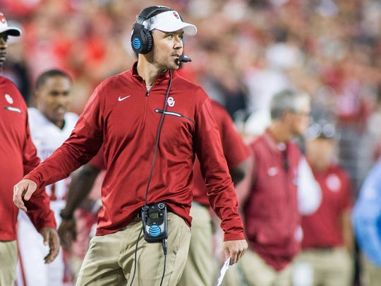 Oklahoma coach Lincoln Riley made the best call of