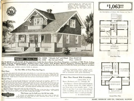 A Westly model featured in a Sears catalog.