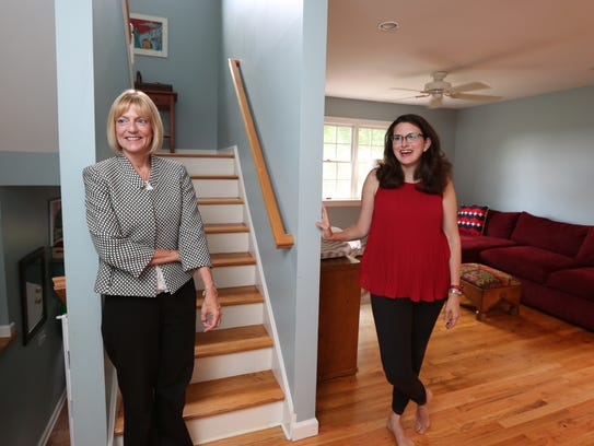 Donna Cox, left, associate broker with Better Homes