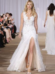 Wedding Dress High Slit