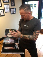 Patrick Conlon, owner of Speakeasy Tattoo in Peekskill