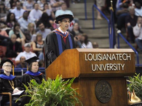 Spring 2015 Commencement, Louisiana Tech University