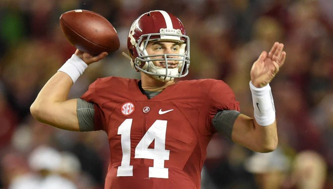 Jake Coker and Alabama look like they will be a factor throughout the remainder of the 2015 season.