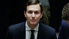 White House Senior Advisor Jared Kushner takes his