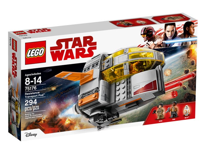 LEGO's new Star Wars: The Last Jedi sets released for Force