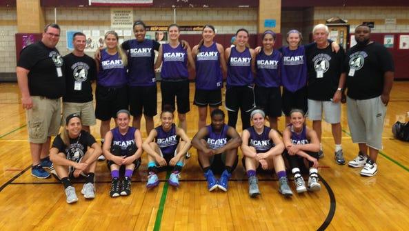 2015 Rochester girls basketball team, silver-medalist