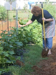 Caroline King's expanding garden spurred her to join with other area gardeners and artisans to form the Heirloom Farmers Market and Artisan Fair in Haughton.