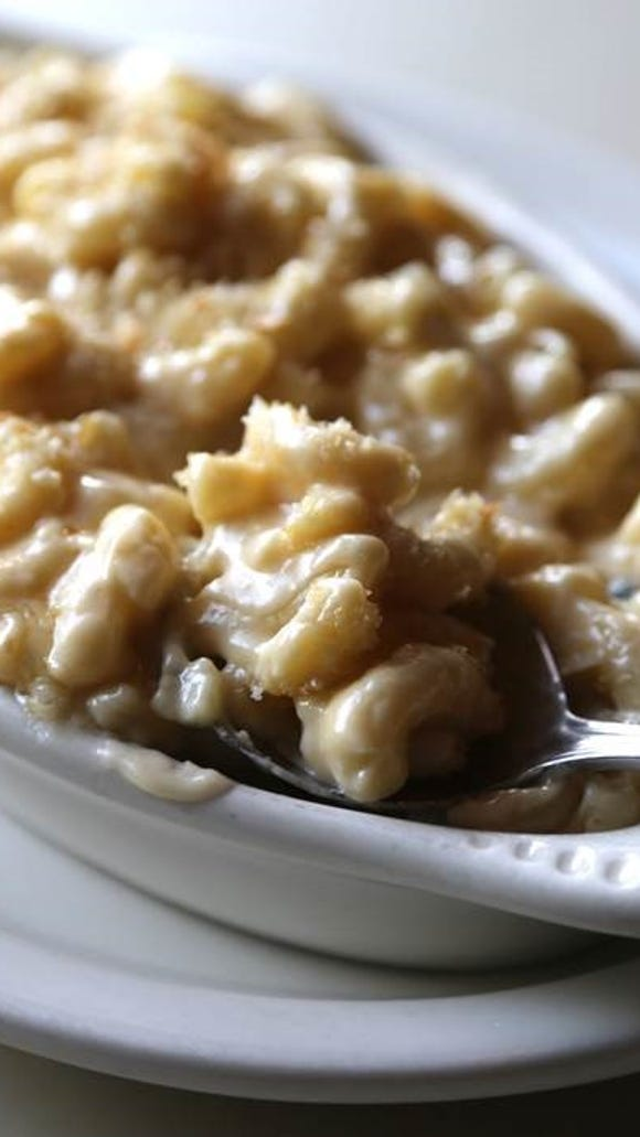 Crave-worthy foods like mac and cheese are at the heart of the Brickwall menu.