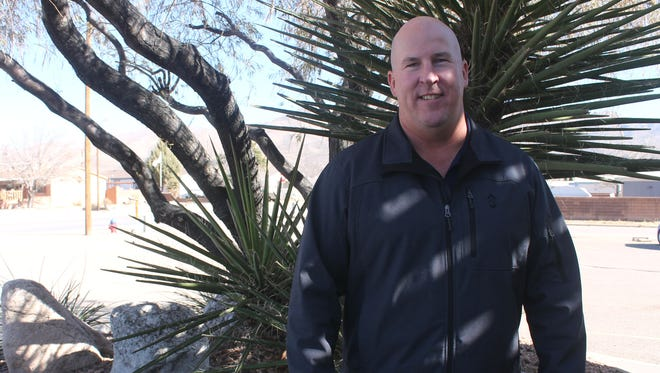 Scott Fredrick, a retired Lt. Colonel who moved to Alamogordo with the F-16 squadrons in 2014, is running against four candidates for the City Commission seat in District 2.