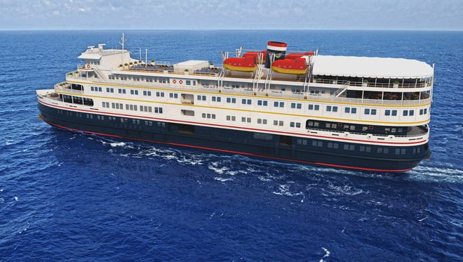 The M.S. St. Laurent will sail between Montreal and Chicago, with a stop in Windsor-Detroit.