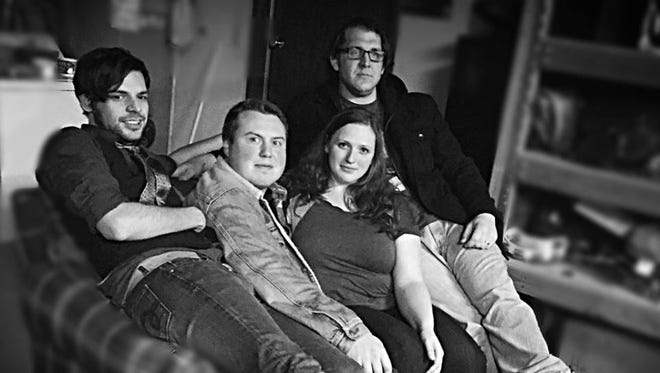 The Pumps are a rock 'n' roll quartet. Catch them March 17 at Brown's Towne Lounge.