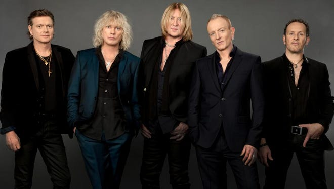 The musical group Def Leppard.