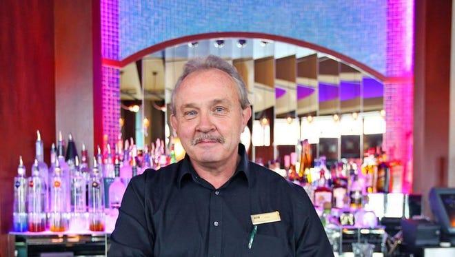 Bartender Dean Burnett opened The Corner bar in 2002.
